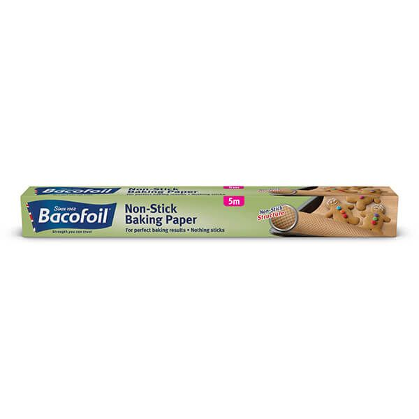 Bacofoil Non-Stick Structured Baking Paper 38cm x 5m
