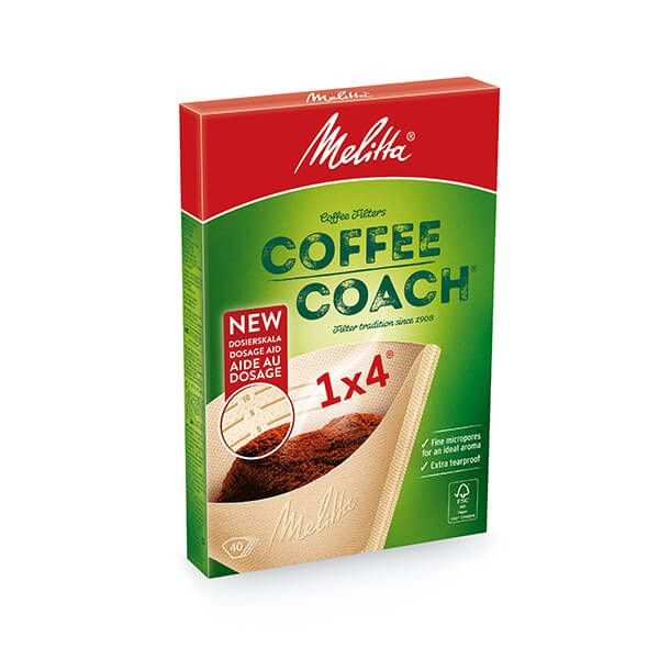 Melitta Coffee Coach Filters 1x4 Pack Of 40
