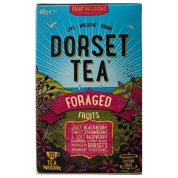 Dorset Tea Foraged Fruits 20 Tea Bags