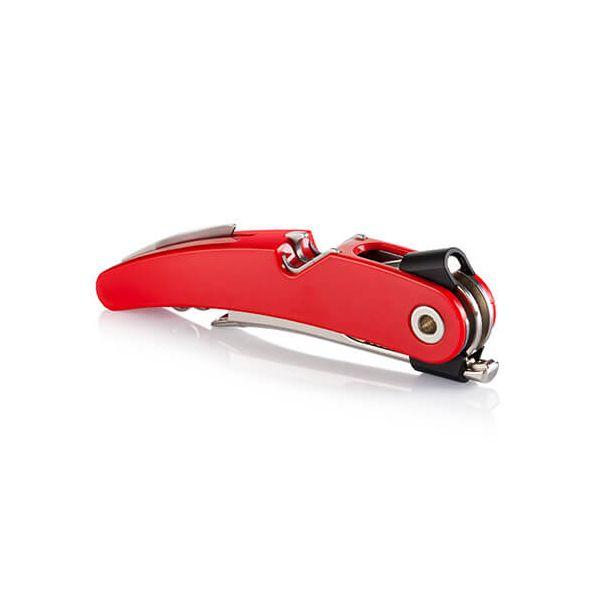 Vacu Vin Single Pull Corkscrew Red