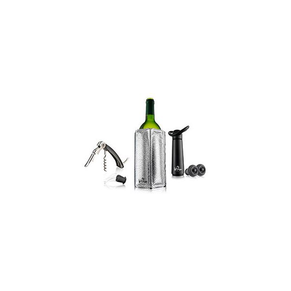The Wine Show Wine Essentials Gift Set Black