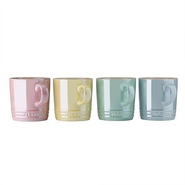 Le Creuset Glace Set of Four Mugs
