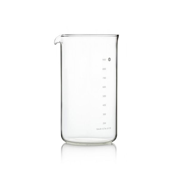 Barista & Co 8 Cup Cafetiere Glass Beaker