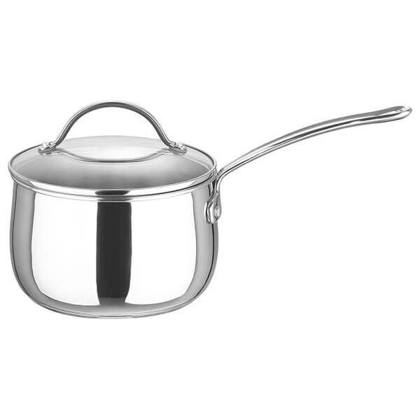 Prestige Stainless Steel 18cm Saucepan With Lid 2.8L