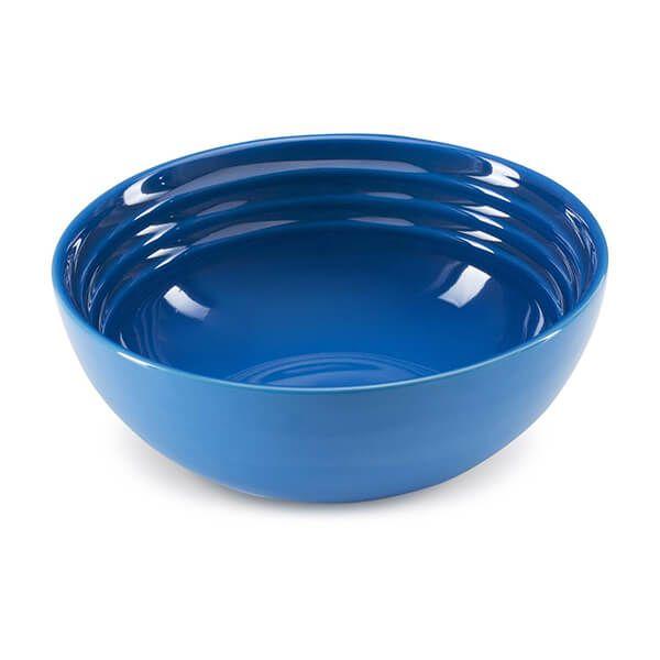 Le Creuset Marseille Blue Stoneware 16cm Cereal Bowl