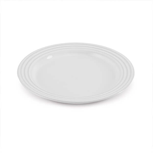 Le Creuset White Stoneware 22cm Side Plate