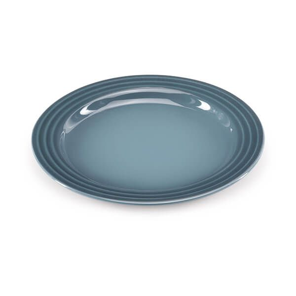 Le Creuset Marine Stoneware 22cm Side Plate 4 for 3