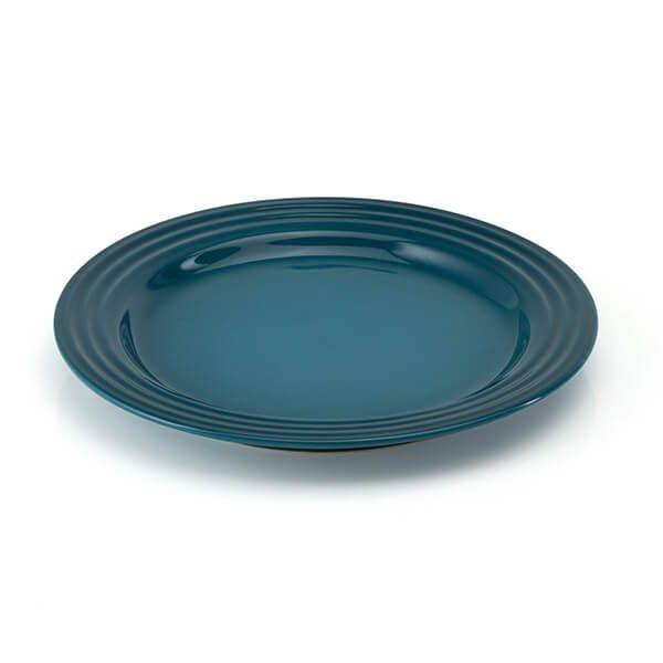 Le Creuset Deep Teal Stoneware 22cm Side Plate