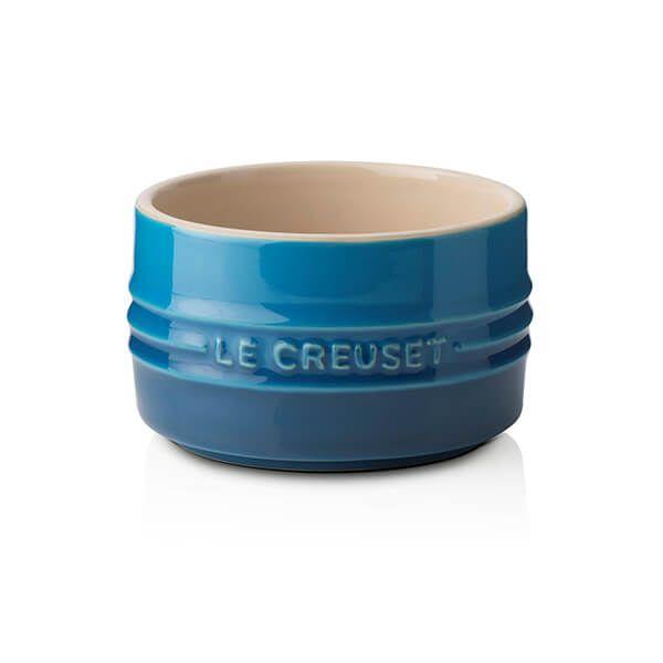 Le Creuset Marseille Blue Stoneware Stackable Ramekin