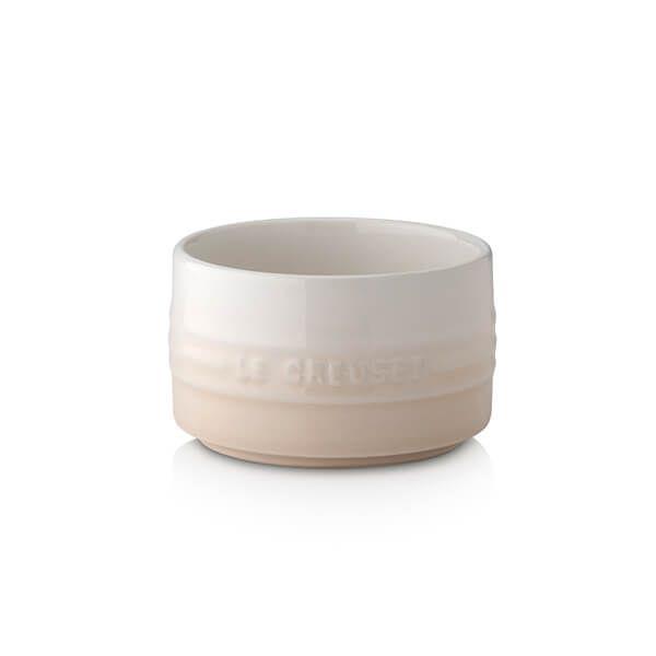 Le Creuset Meringue Stoneware Stackable Ramekin