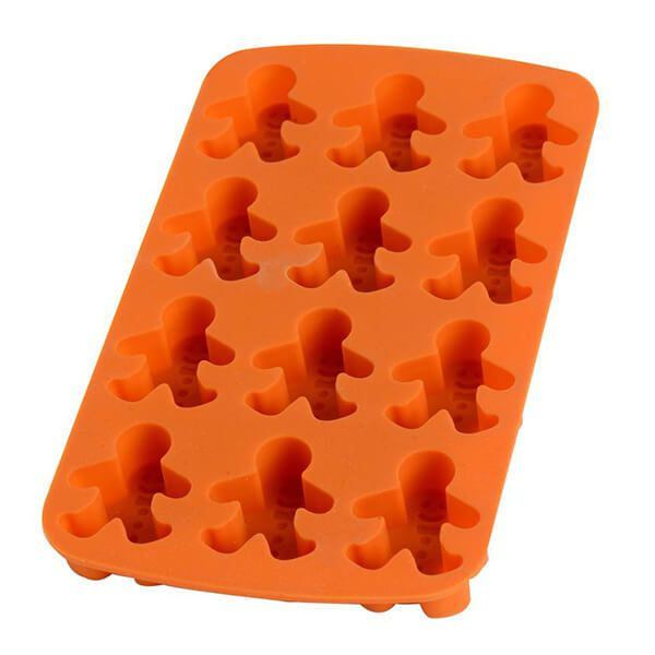 Eddingtons Gingerbread 12 Man Silicone Tray 12 Cup