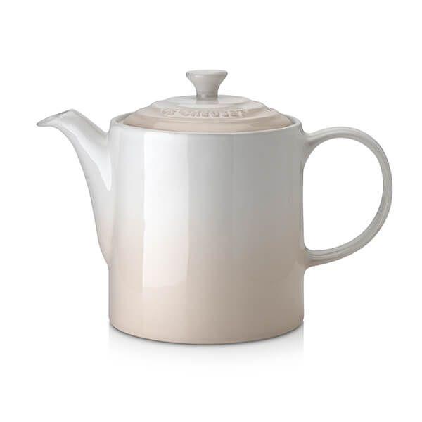 Le Creuset Meringue Stoneware Grand Teapot