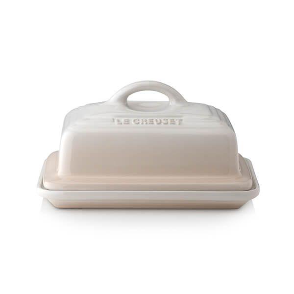 Le Creuset Meringue Stoneware Butter Dish