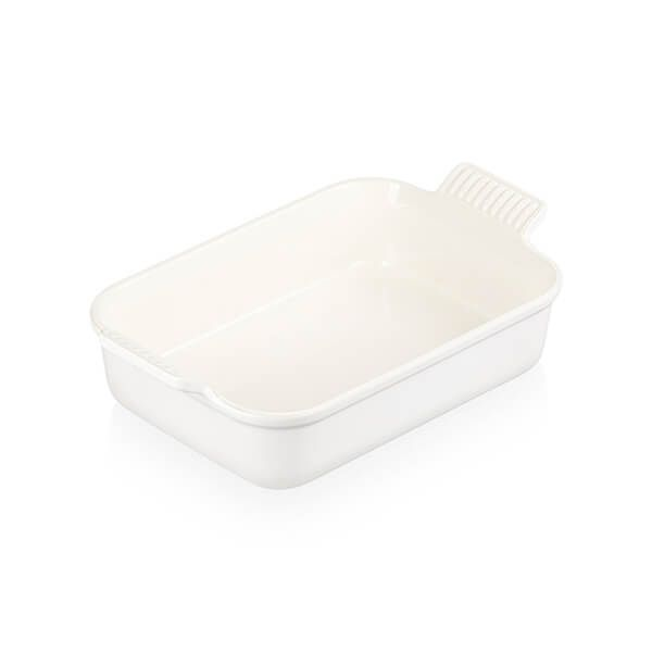 Le Creuset Cotton Stoneware Medium 26cm Heritage Rectangular Dish