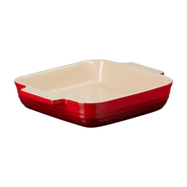 Le Creuset Cerise Stoneware 23cm Classic Square Dish