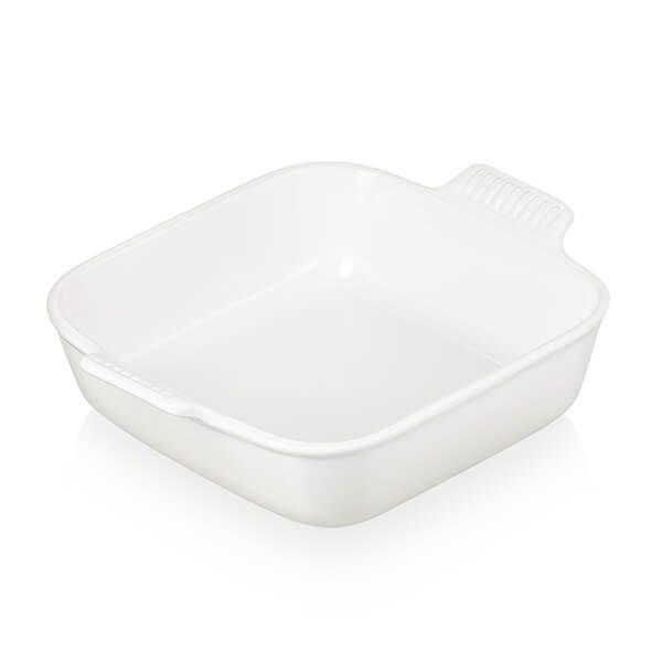 Le Creuset Meringue Stoneware 23cm Classic Square Dish