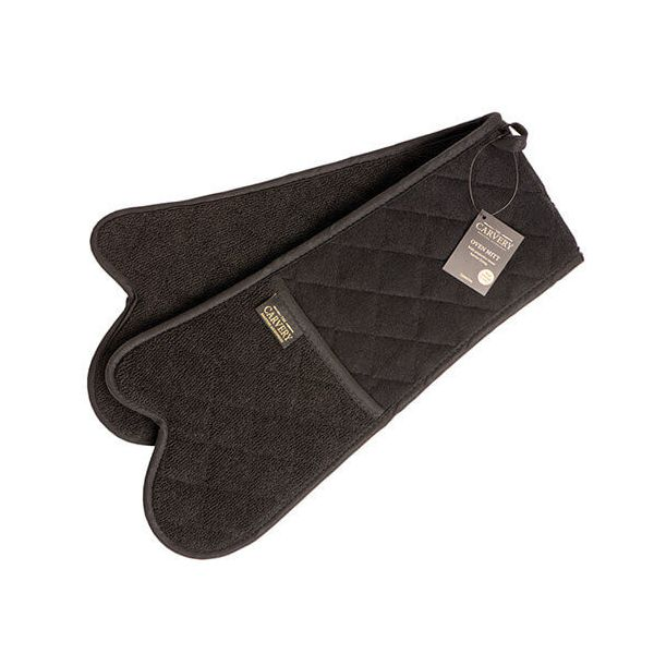 Eddingtons The Carvery Black Double Oven Mitt