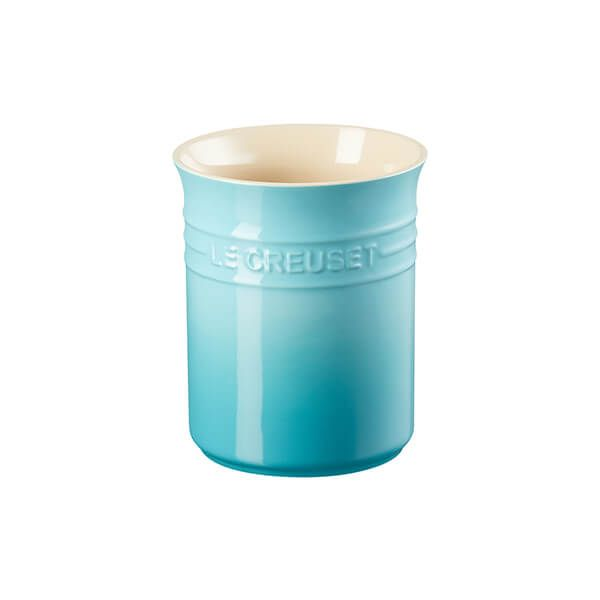 Le Creuset Teal Stoneware Small Utensil Pot