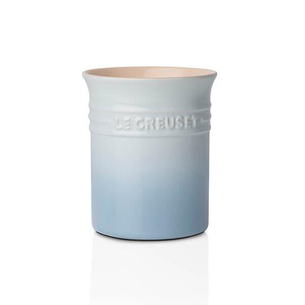 Le Creuset Coastal Blue Stoneware Small Utensil Pot