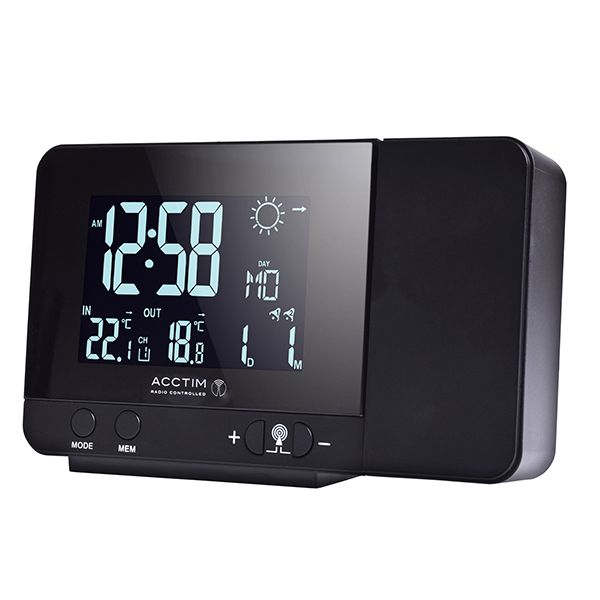 Acctim Sirius Weatherstation Black