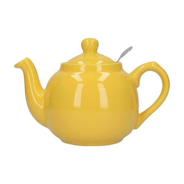 London Pottery Farmhouse Filter 2 Cup Teapot New Yellow