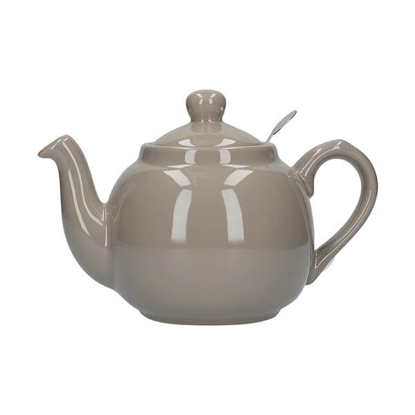 London Pottery Farmhouse Filter 2 Cup Teapot Grey