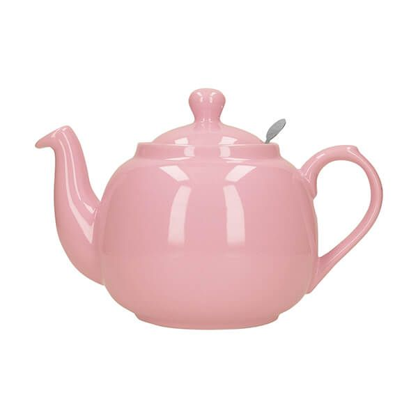 London Pottery Farmhouse Filter 2 Cup Teapot Pink