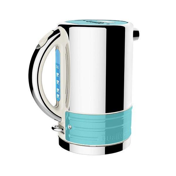 Dualit Architect Canvas and Azure Blue Kettle