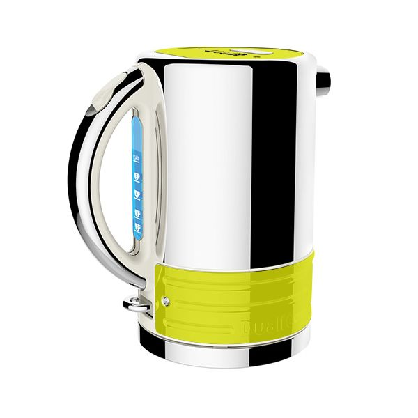 Dualit Architect Canvas and Citrus Yellow Kettle