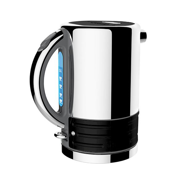 Dualit Architect Grey and Gloss Black Kettle