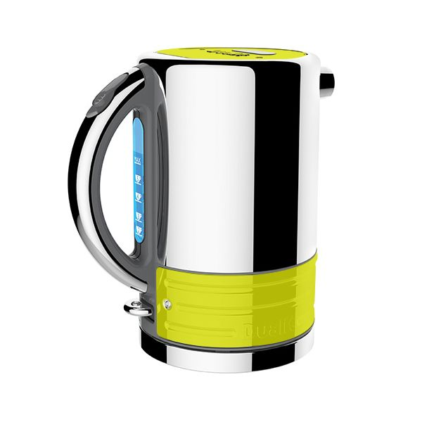 Dualit Architect Grey and Citrus Yellow Kettle