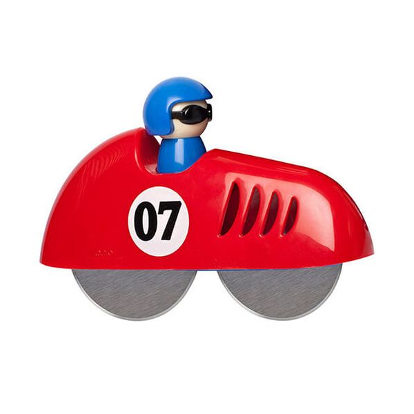 Eddingtons Red Racing Car Pizza Cutter