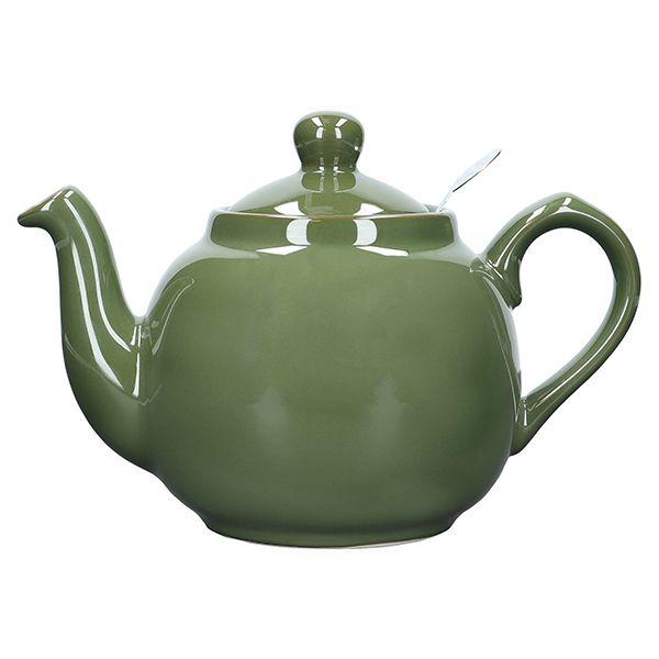 London Pottery Farmhouse Filter 4 Cup Teapot Green