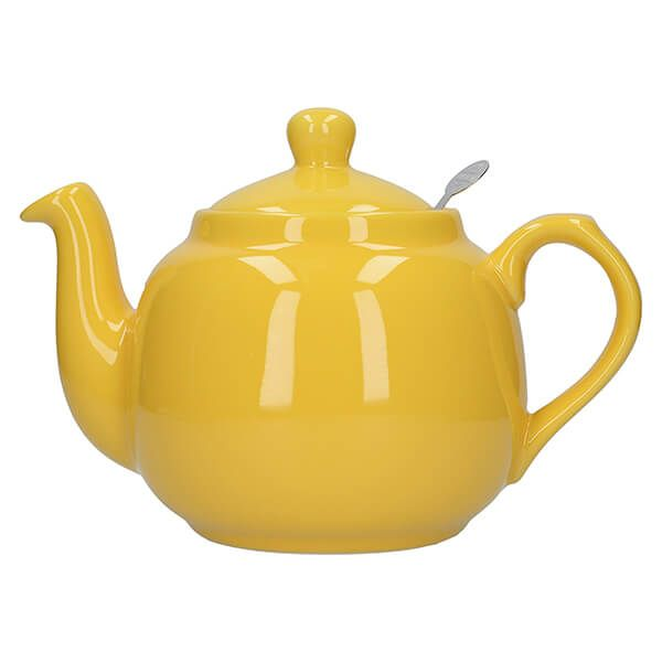 London Pottery Farmhouse Filter 4 Cup Teapot New Yellow