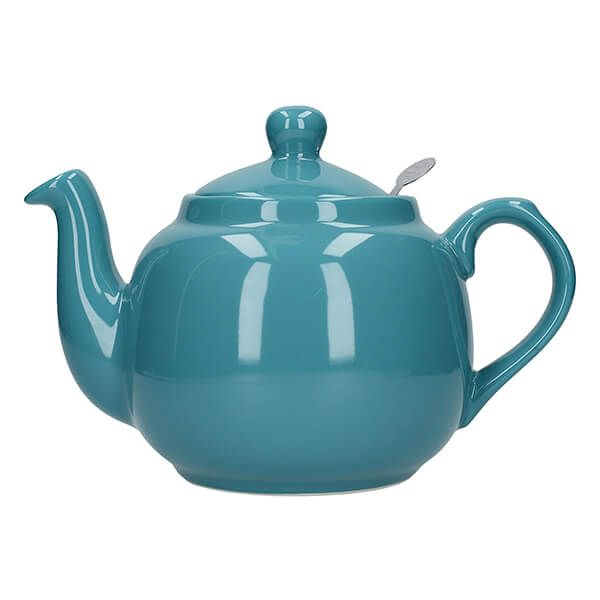 London Pottery Farmhouse Filter 4 Cup Teapot Aqua