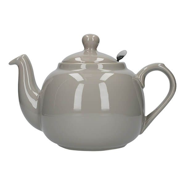London Pottery Farmhouse Filter 4 Cup Teapot Grey