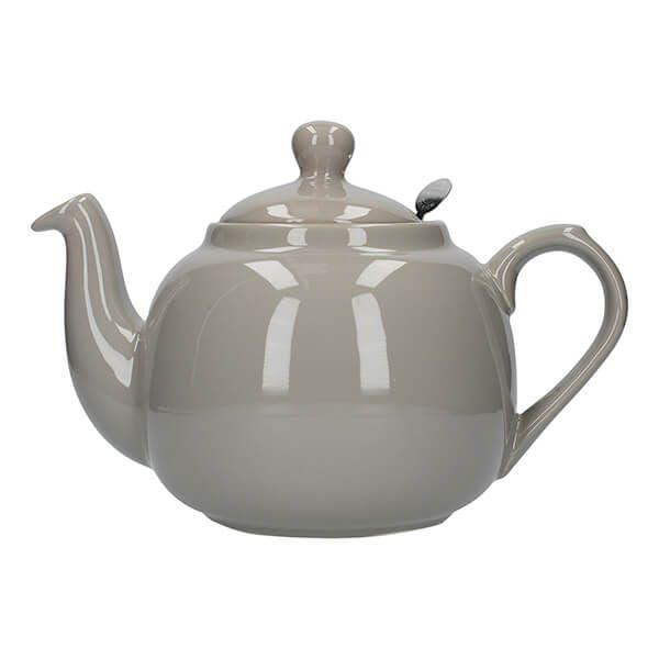 London Pottery Farmhouse Filter 4 Cup Teapot Grey