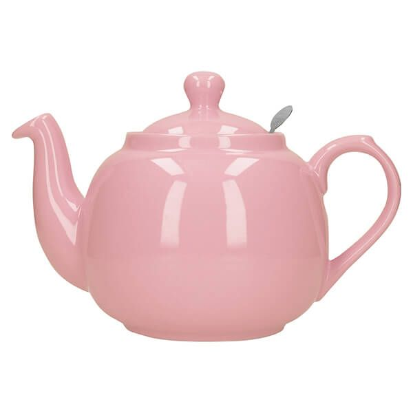 London Pottery Farmhouse Filter 4 Cup Teapot Pink