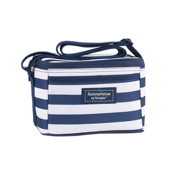 Navigate Coast Personal Cool Bag Navy And White