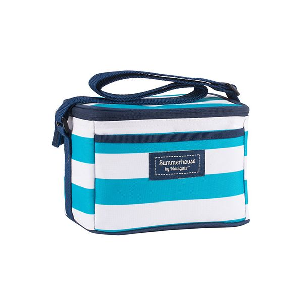Navigate Coast Personal Cool Bag Aqua And White