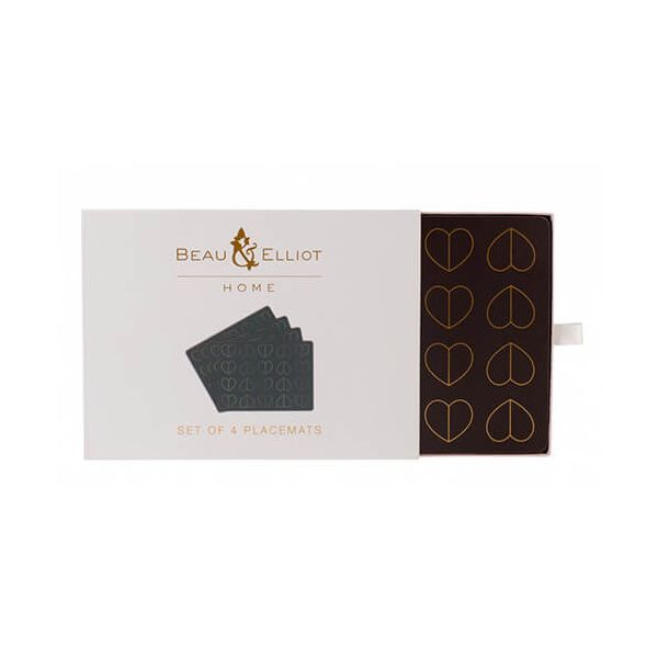 Beau & Elliot Champagne Edit Dove Set of 4 Placemats