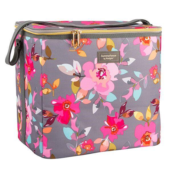 Navigate Gardenia 20L Family Cool Bag Grey Floral