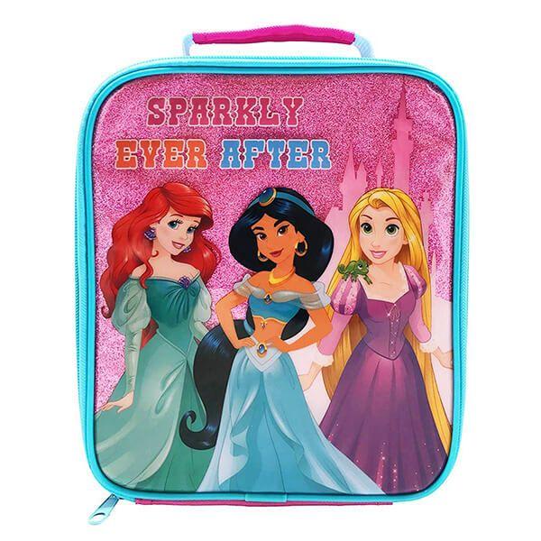 Disney Princess Sparkly Rectangular Lunch Bag
