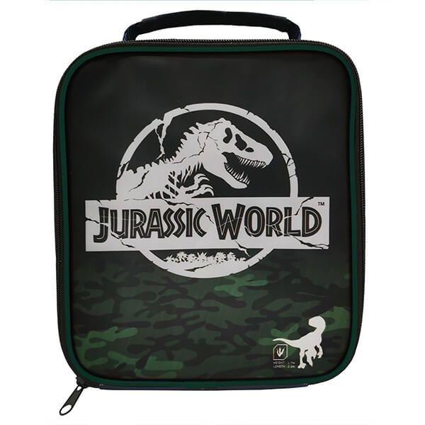Jurassic World Camo Rectangular Lunch Bag