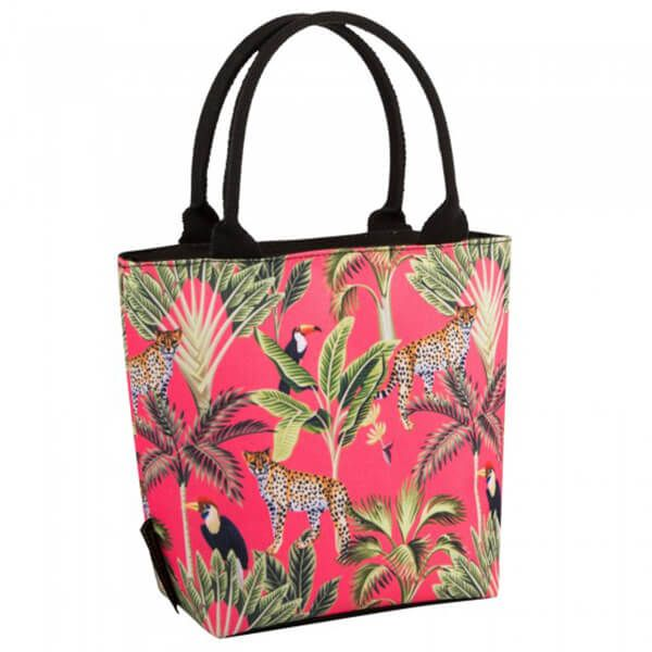 Navigate Madagascar Lunch Tote Cheetah Coral