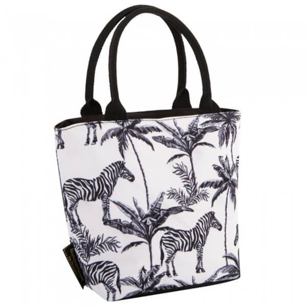 Navigate Madagascar Lunch Tote Zebra Repeat