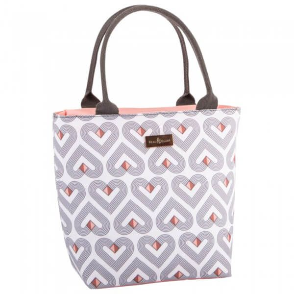 Navigate Beau & Elliot Vibe Lunch Tote White