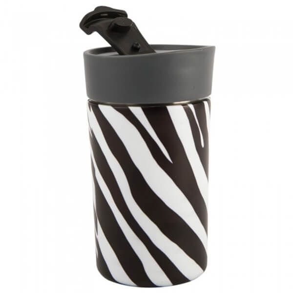Navigate Madagascar 300ml Travel Mug Zebra Stripe