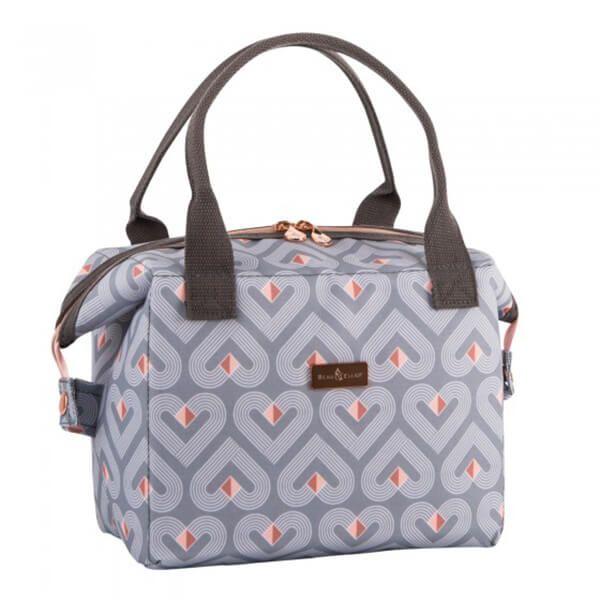 Navigate Beau & Elliot Vibe Grey Convertible Lunch Bag