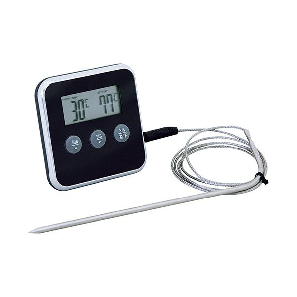 Eddingtons Digital Timer With Meat Thermometer